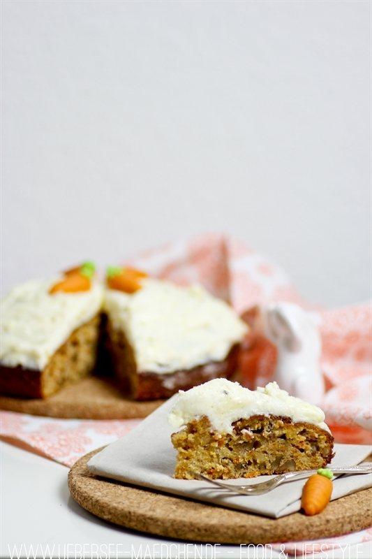 Rezept Saftiger Karottenkuchen zu Ostern