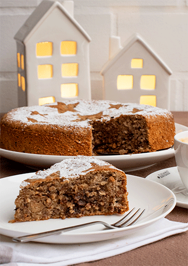 Rezept Saftiger Maronen-Nuss-Kuchen