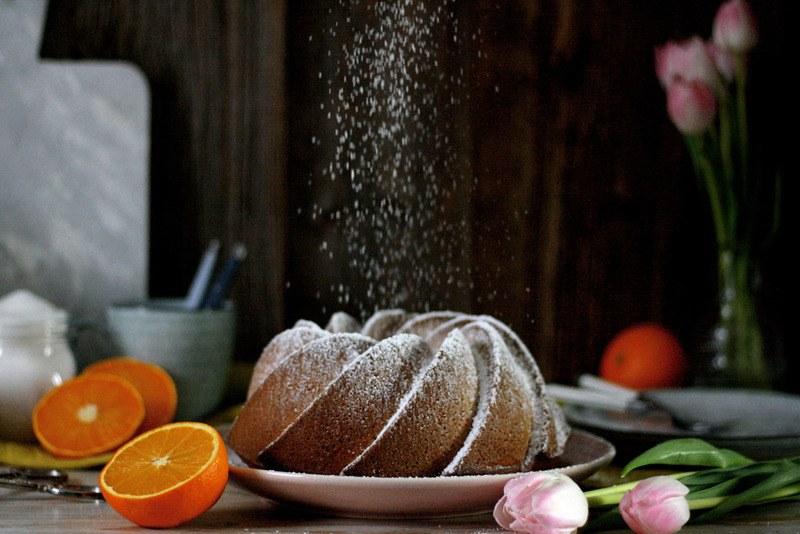 Rezept Saftiger Orangen-Gugelhupf