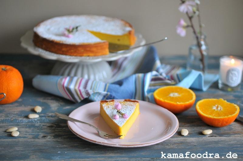 Rezept Saftiger Orangen-Mandelkuchen