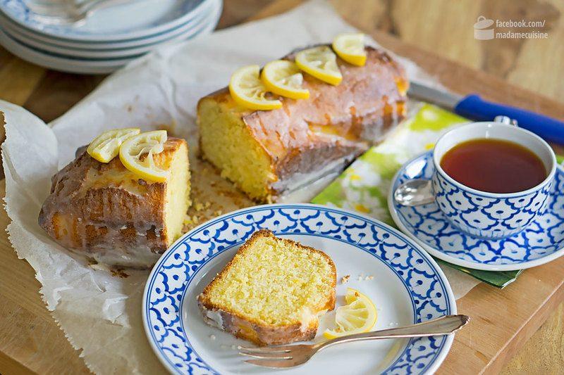 Rezept Saftiger Zitronenkuchen