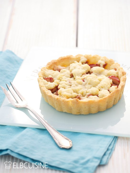 Rezept Saisonales Highlight: Rhabarber-Tarte