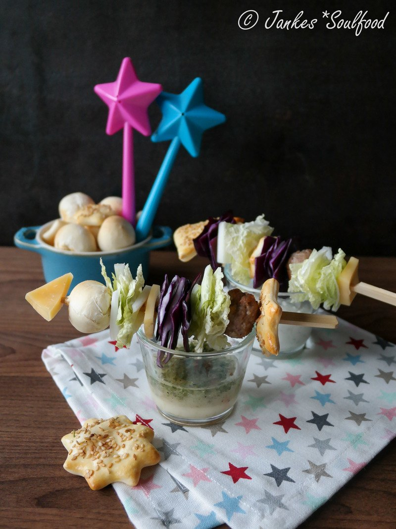 Rezept Salat-Raketen für Silvester