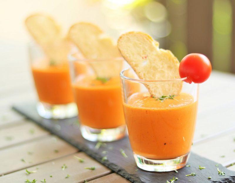 Rezept Salmorejo – kaltes, spanisches Süppchen