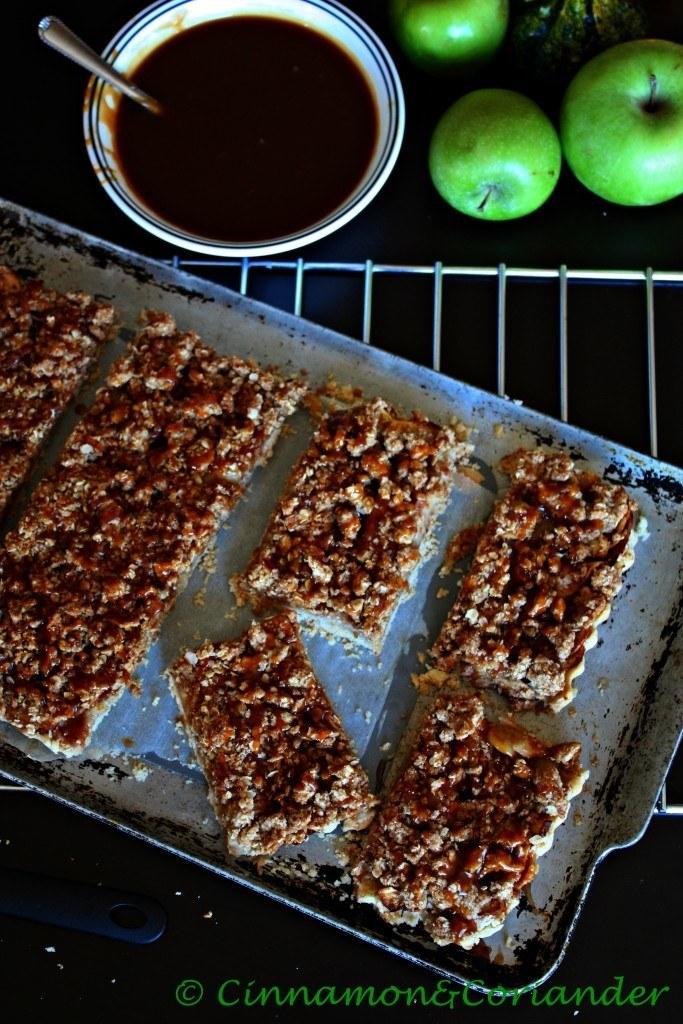 Rezept Salted Caramel Apple Pie Bars