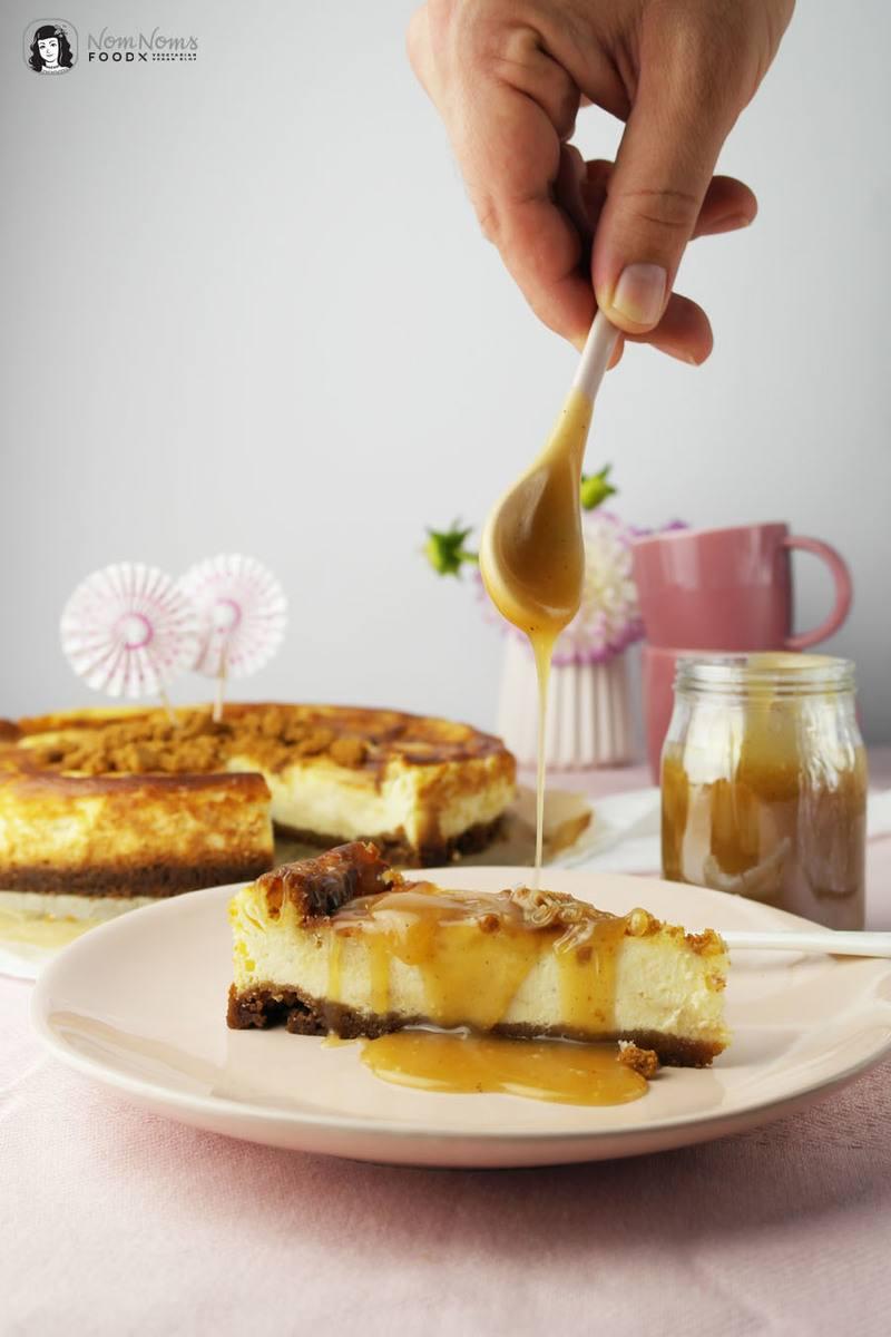 Rezept Salted Caramel Cheesecake oder Salzkaramell Käsekuchen