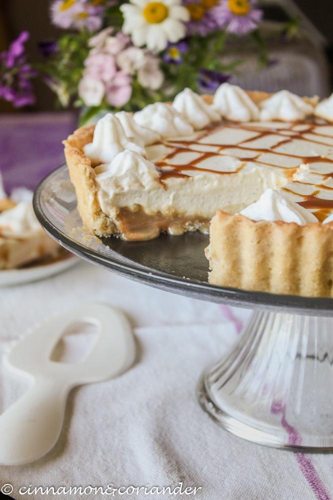 Rezept Salted Maple Caramel Cheesecake Tart