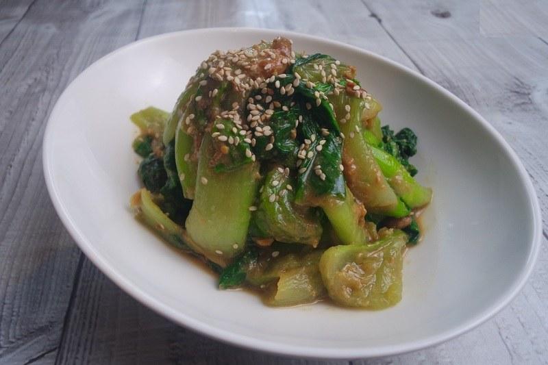 Rezept Salziger Pak Choi Salat