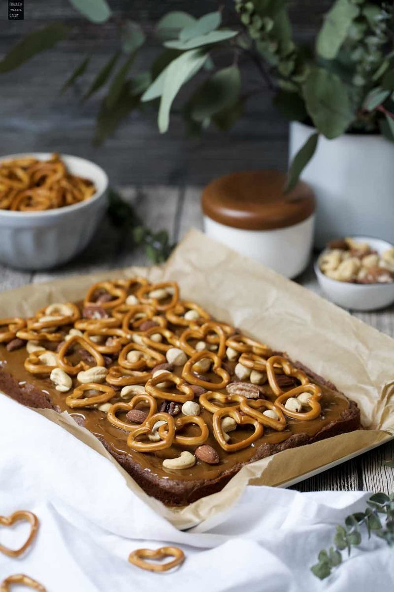 Rezept Salzkaramell-Brownies
