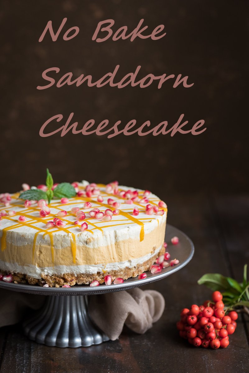 Rezept Sanddorn Cheesecake - No Bake