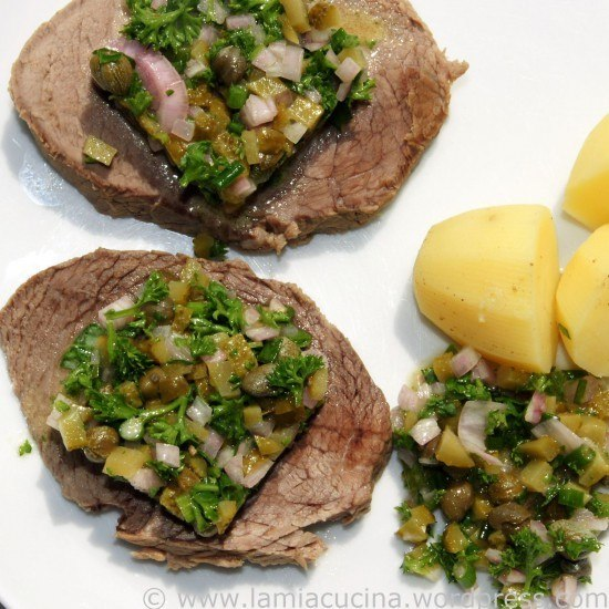 Rezept Sauce Ravigote mit Siedfleisch