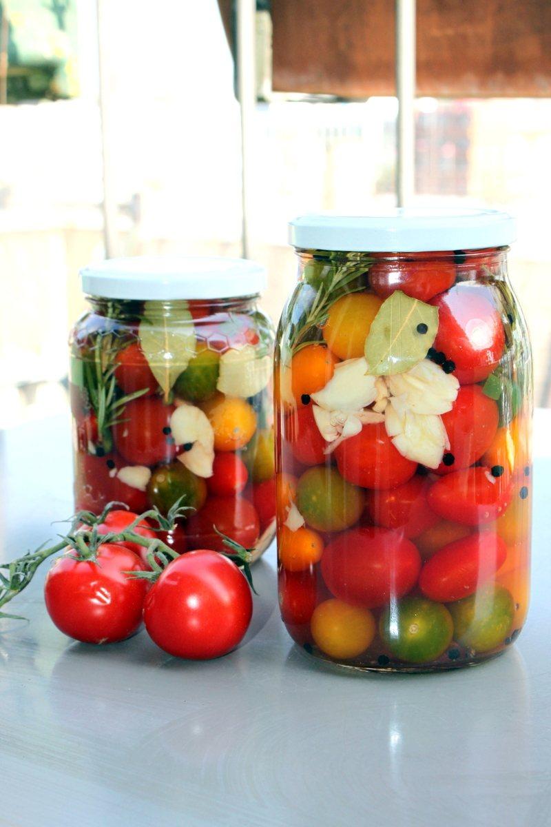 Rezept Sauer eingelegte Kirschtomaten