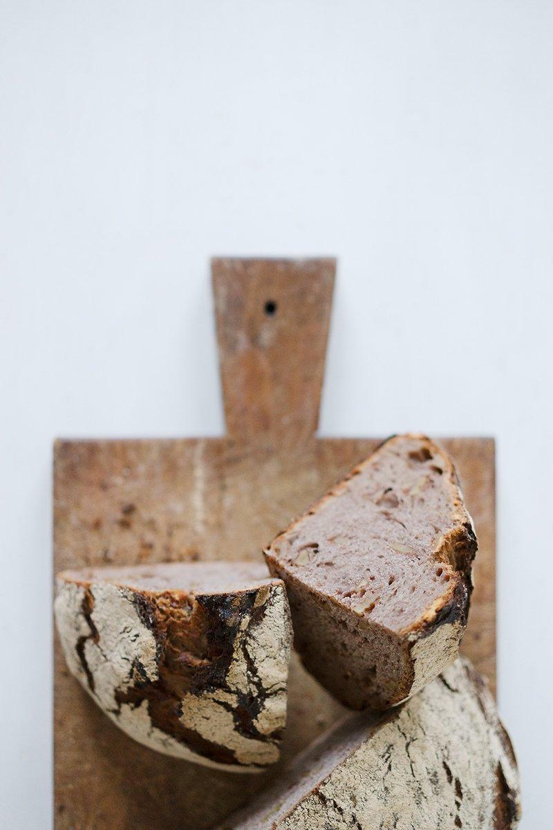 Rezept Sauerteigbrot mit Walnüssen und Traubensaft