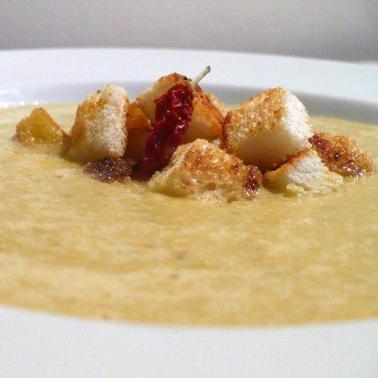 Rezept Scharfe Curry-Kokos-Gurken-Suppe