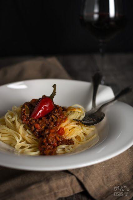 Rezept Scharfe Paprika-Pepperoni-Bolognese