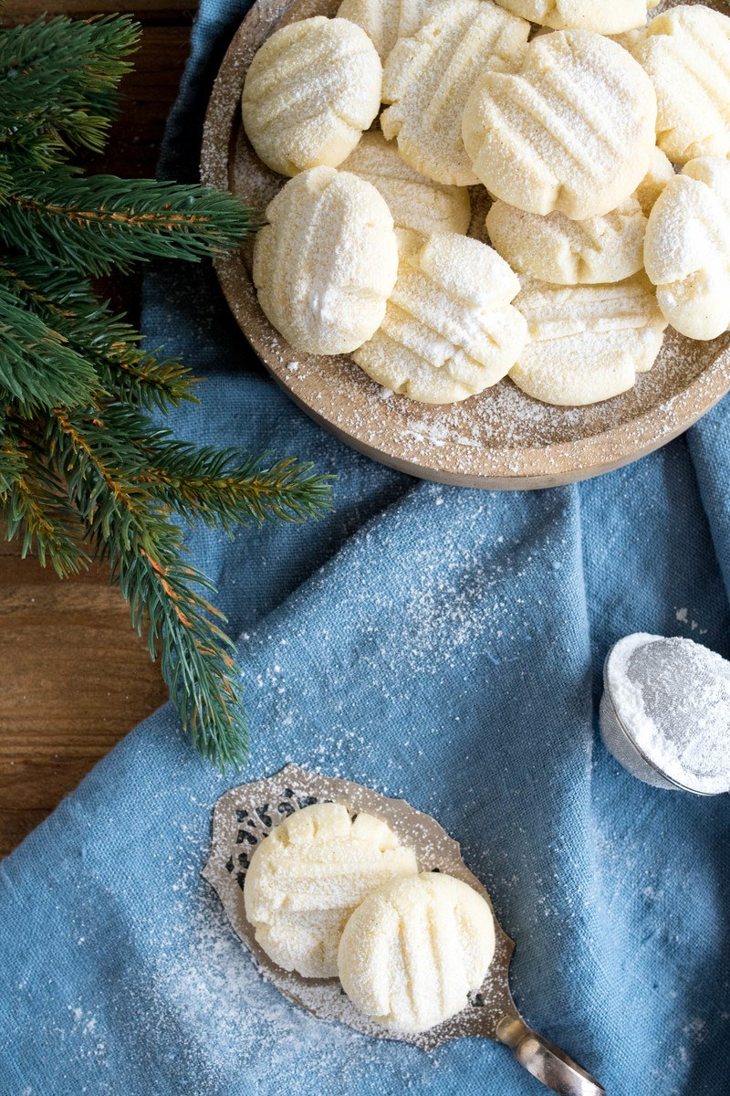 Rezept Schneeflöckchen-Kekse