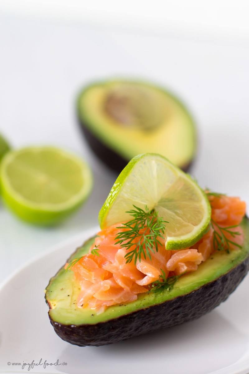 Rezept Schnelle Avocado Lachs Schiffchen