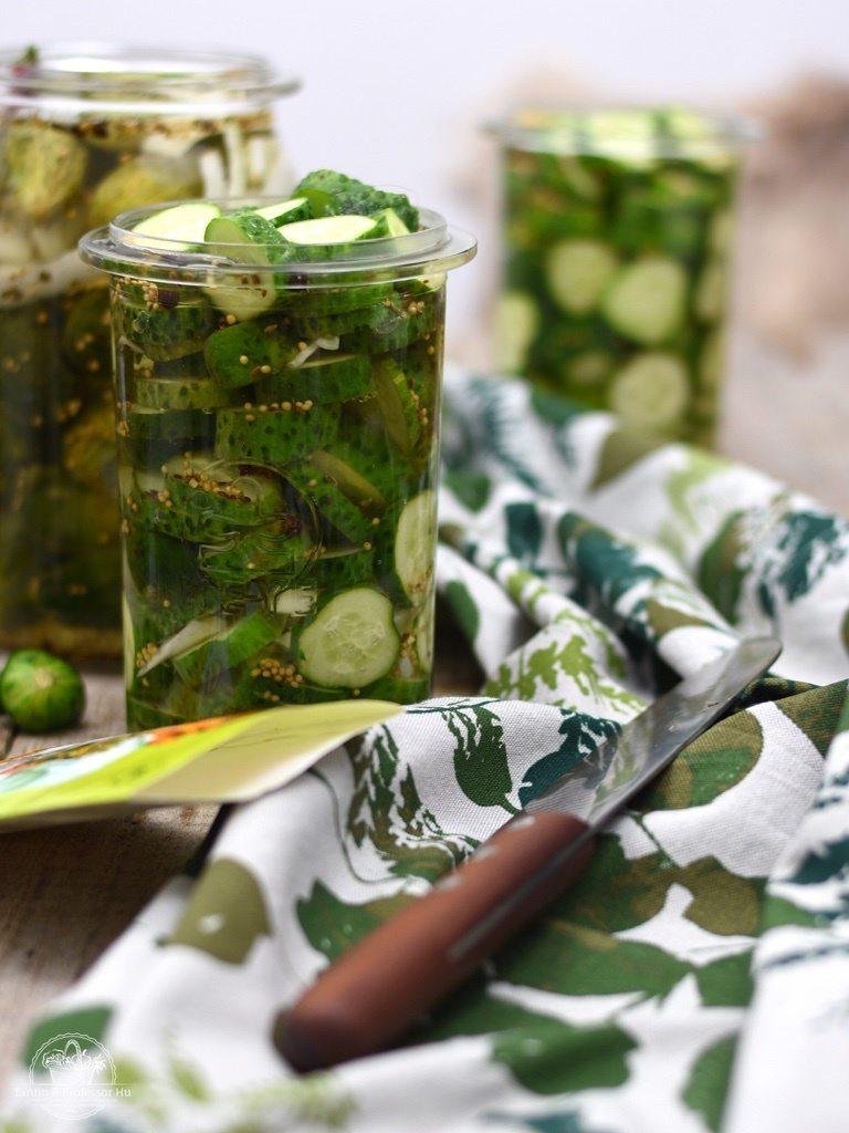 Rezept Schnelle Gurken ohne Einkochen