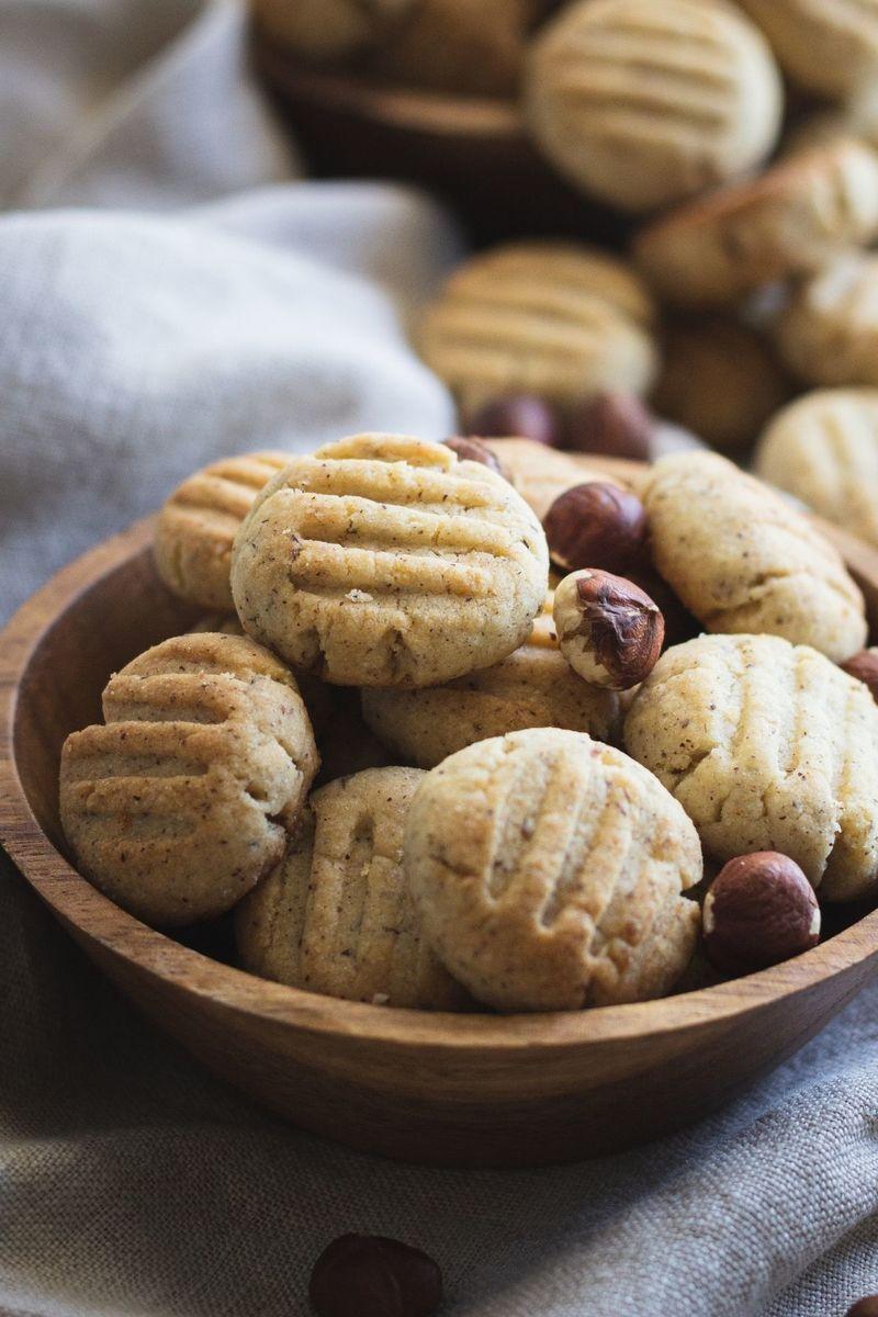 Rezept Schnelle Haselnuss Kekse