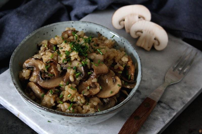 Rezept Schnelle One-Pot-Pilzpfanne