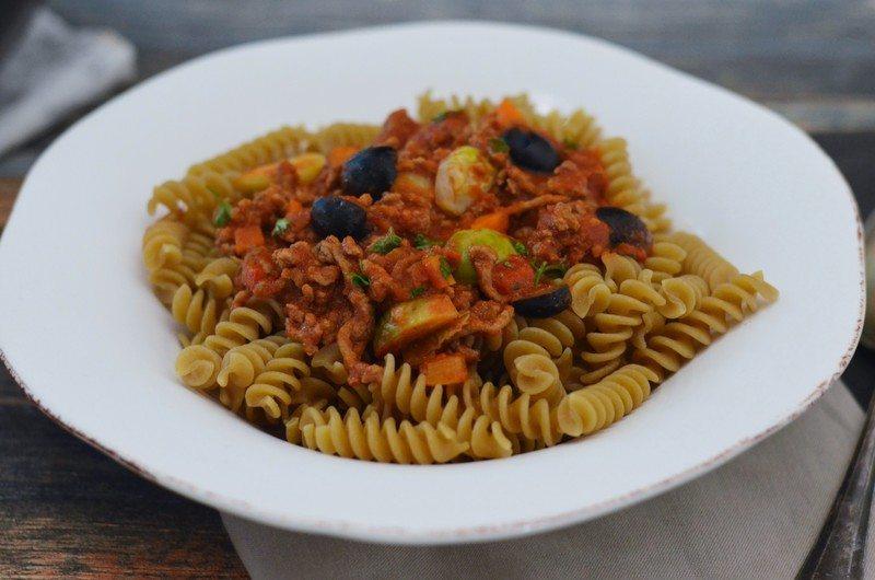 Rezept Schnelle Pfannen-Bolognese