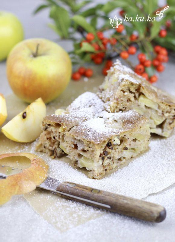 Rezept Schneller Apfelkuchen (ohne Fett)