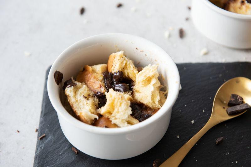 Rezept Schneller Bread-and-Butter-Pudding