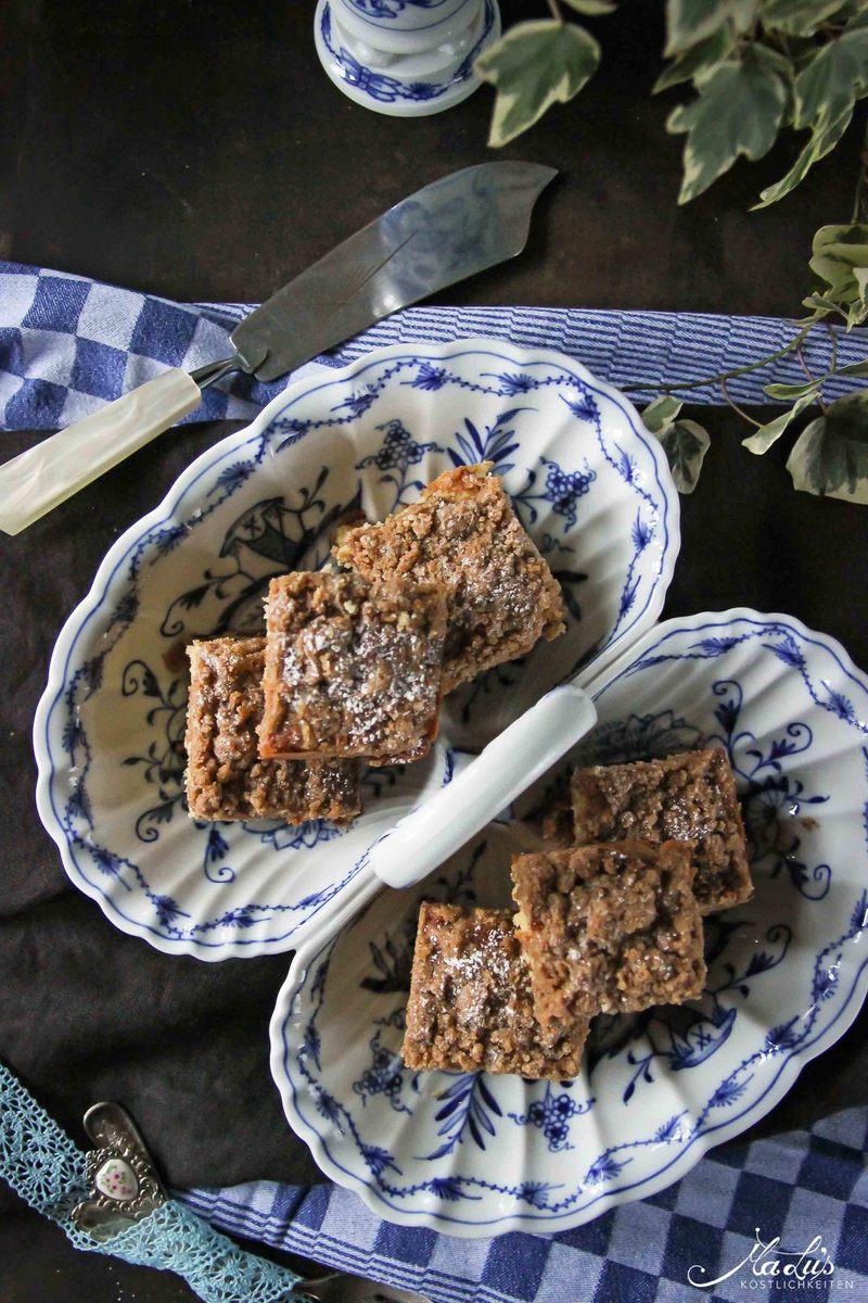 Rezept Schneller knuspriger Zimtstreuselkuchen