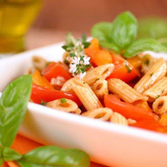 Rezept Schneller Penne Rigate-Salat