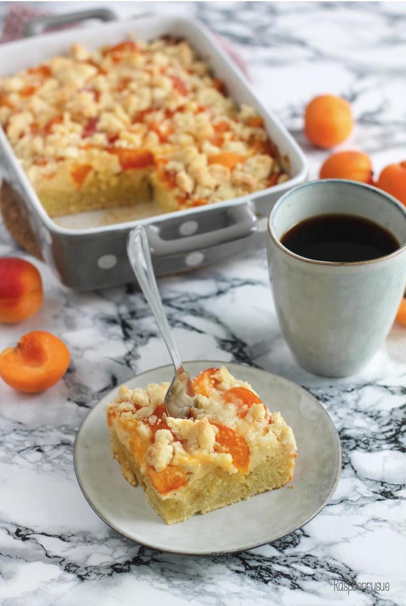 Rezept Schneller Quark-Streuselkuchen mit Aprikosen