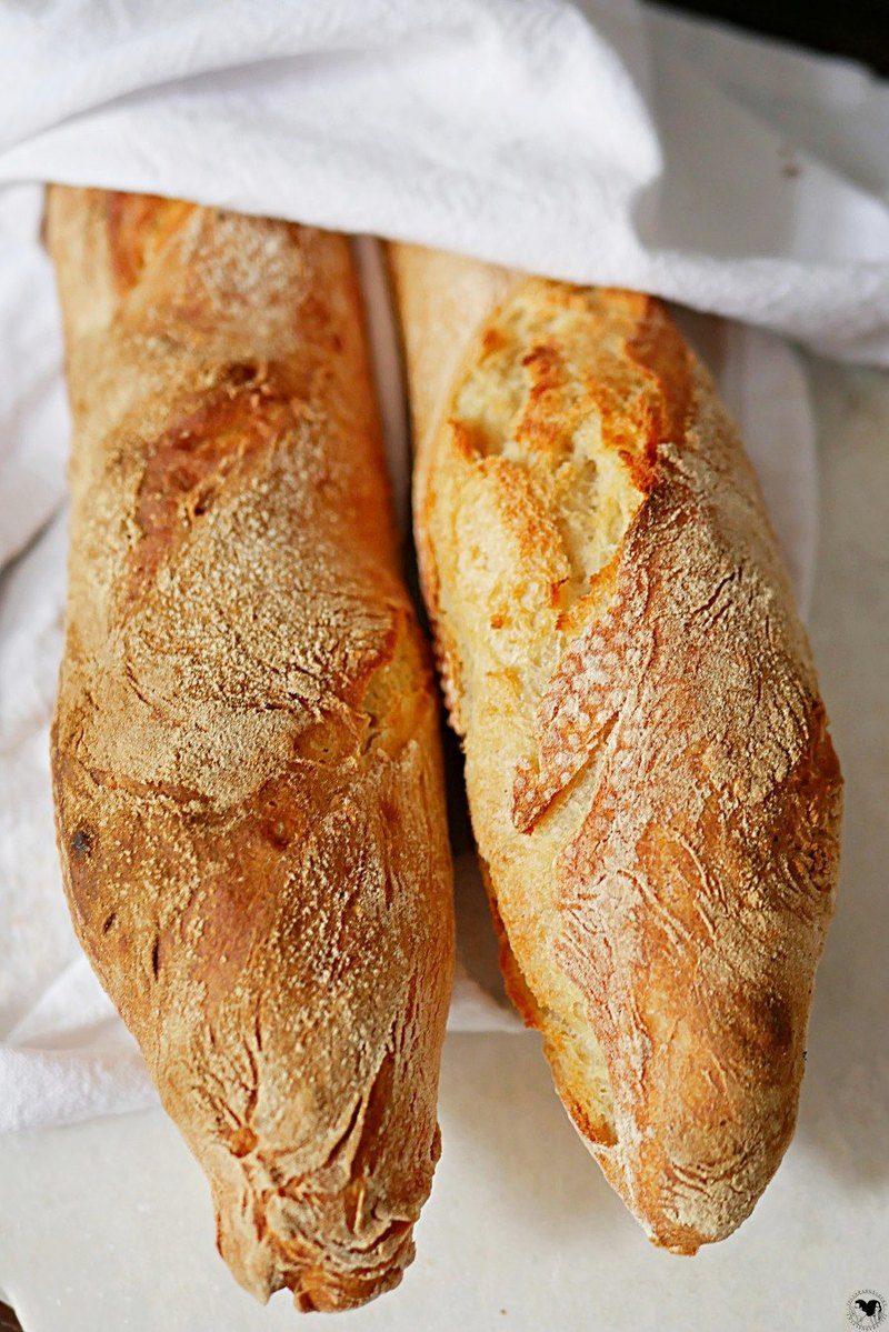 Rezept Schnelles Baguette- Fertig in 90 Minuten