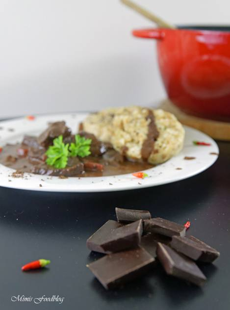 Rezept Schoko-Chili Gulasch