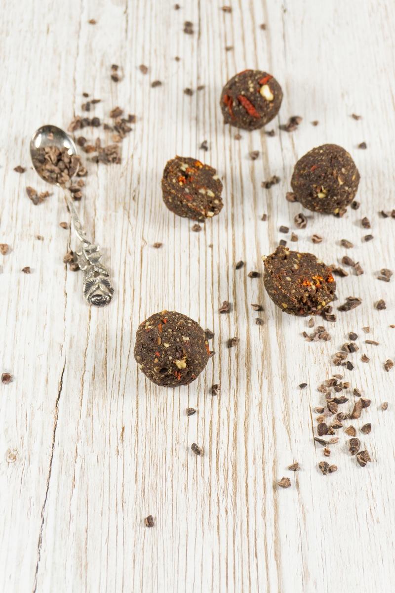 Rezept Schoko Energy Balls mit Datteln
