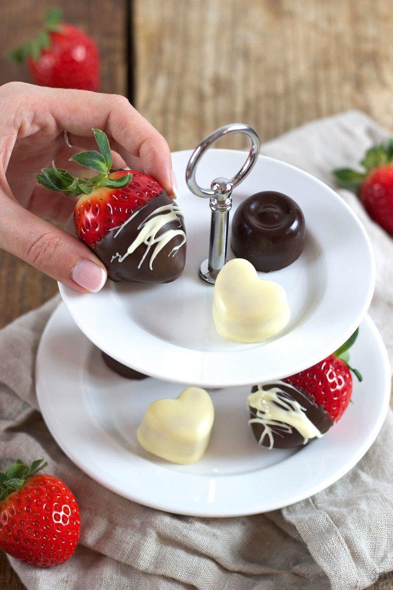 Rezept Schoko Erdbeeren