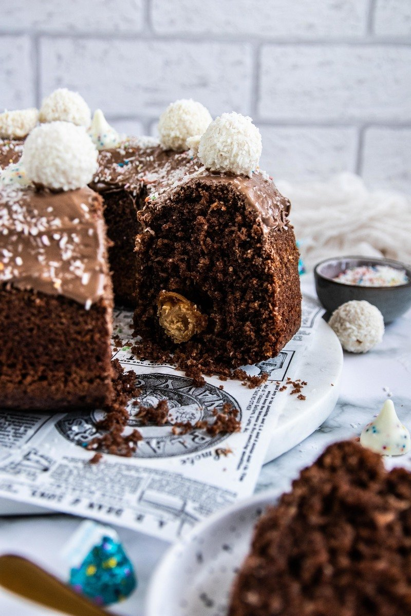 Rezept Schoko Kokos Kuchen