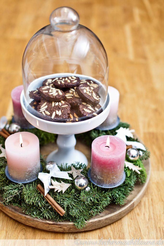 Rezept Schoko-Kokos-Plätzchen mit Mandeln