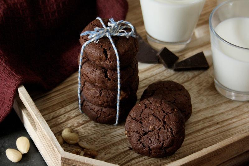 Rezept Schoko-Nuss-Cookies