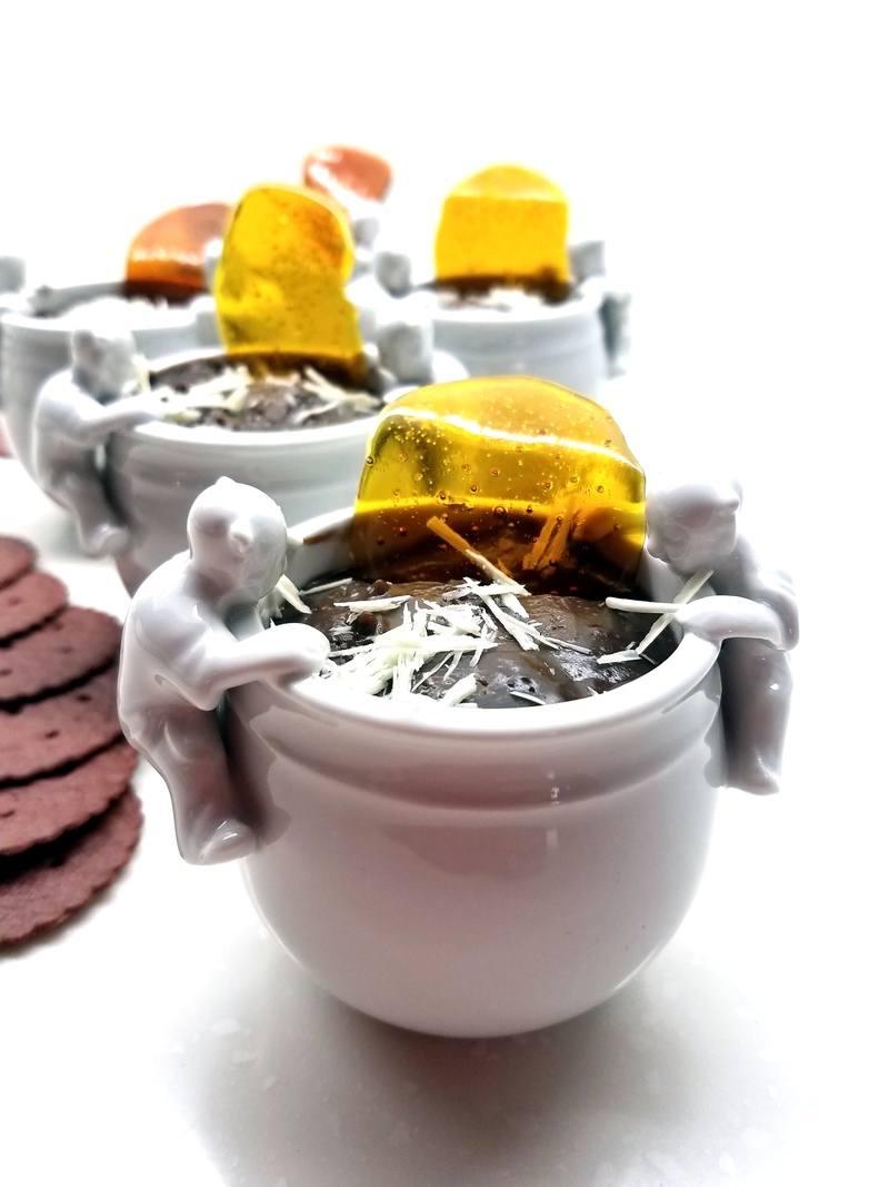 Rezept Schoko-Orangen Pudding