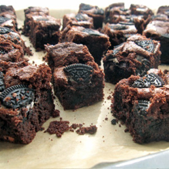 Rezept Schoko-Oreo-Brownies