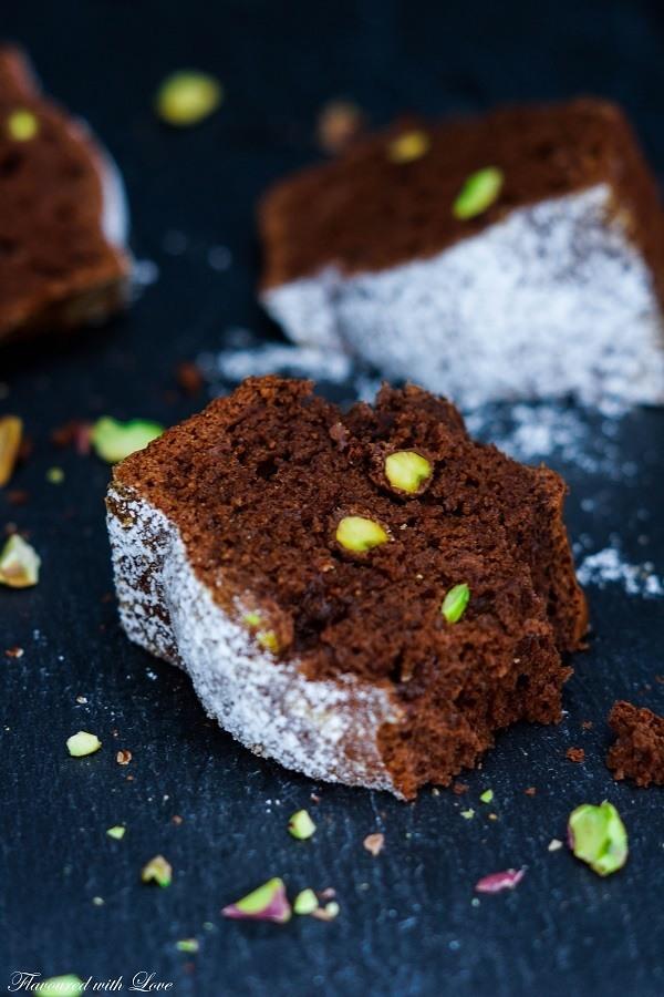 Rezept Schoko-Pistazien-Kuchen