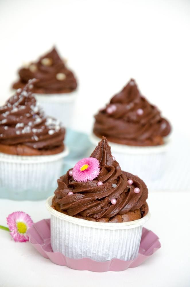 Rezept Schokolade Cupcake (Double Chocolate)