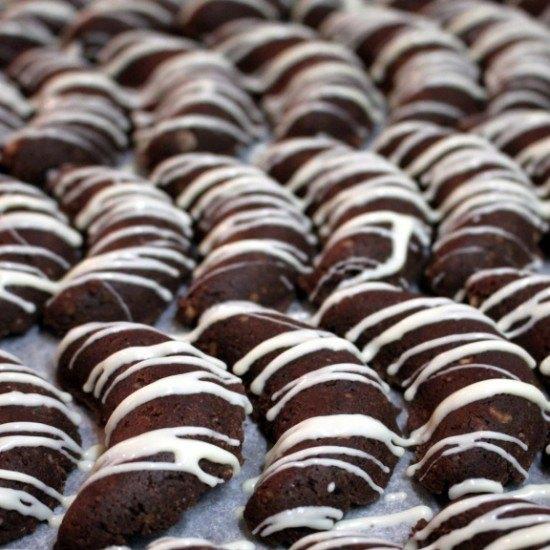 Rezept Schokolade Haselnuss Kipferl