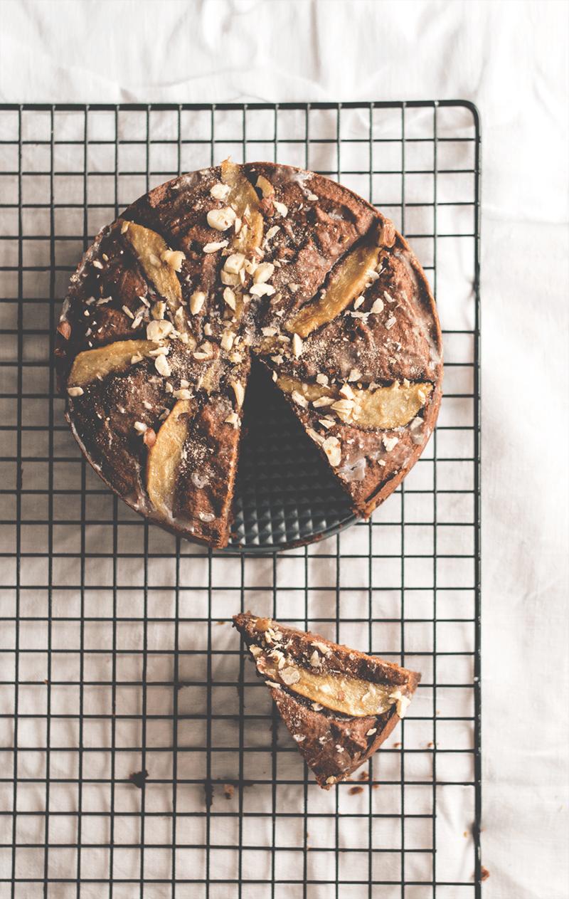 Rezept Schokoladen-Birnen-Kuchen