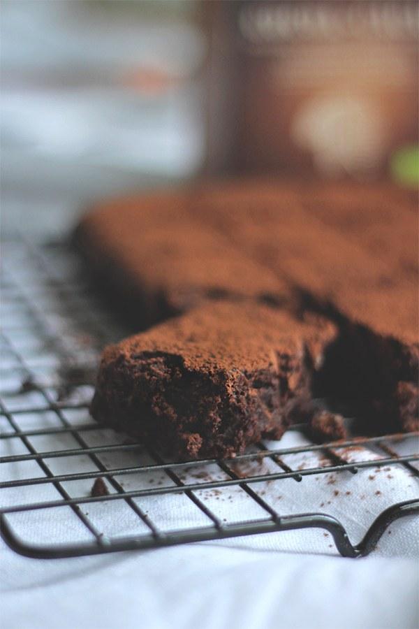 Rezept Schokoladen-Brownies mit Kidneybohnen