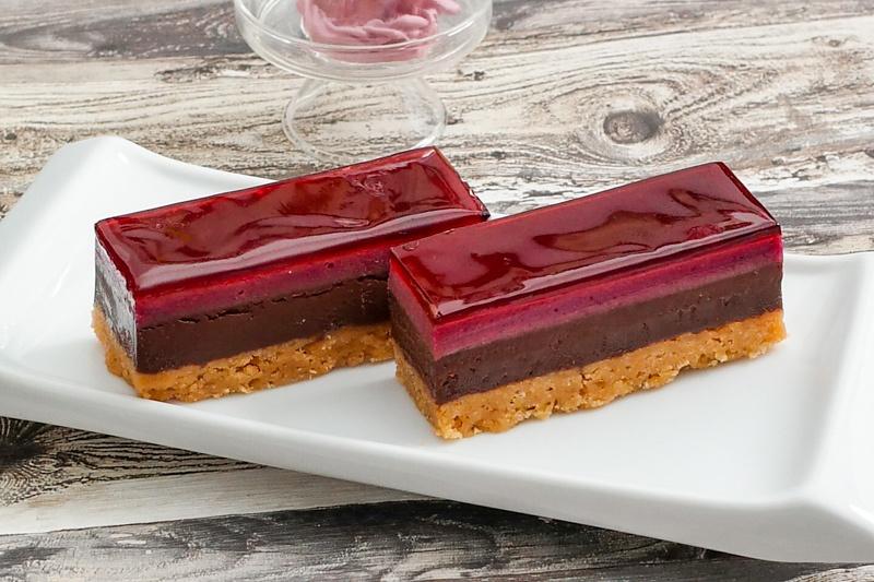 Rezept Schokoladen Cassis Tarte