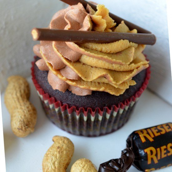 Rezept Schokoladen-Cupcakes mit zweierlei Frostings