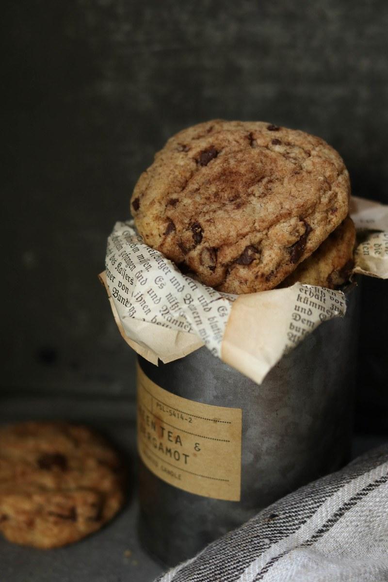 Rezept Schokoladen-Espresso-Cookies
