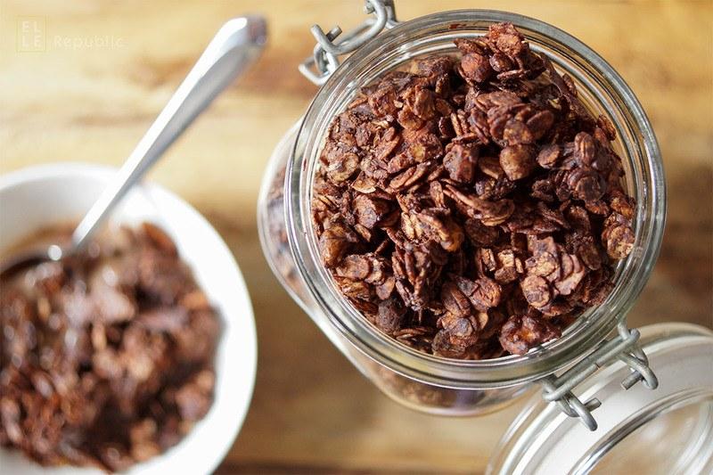 Rezept Schokoladen Granola