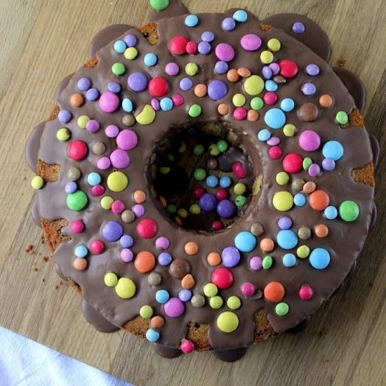 Rezept Schokoladen Kuchen mit Smarties
