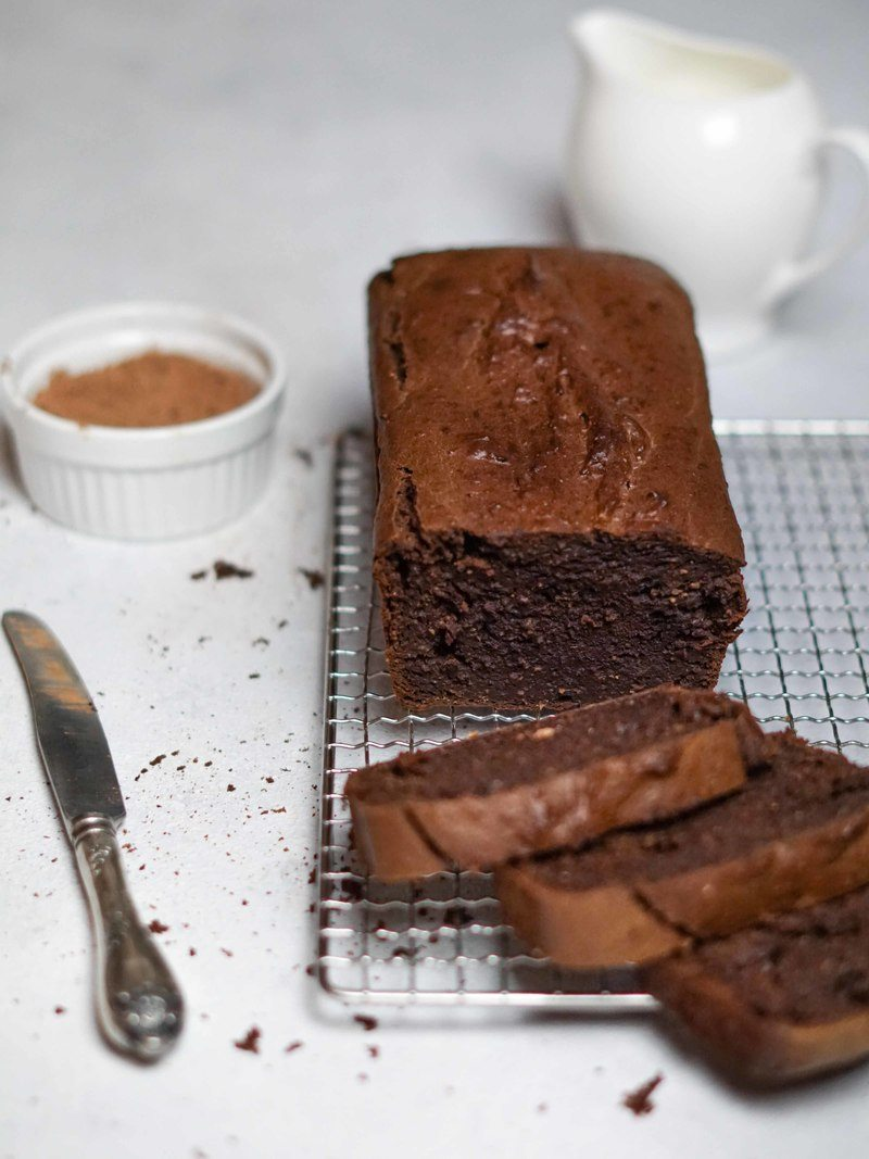 Rezept Schokoladen Kürbis Kuchen – herbstlich, schnell und gesund